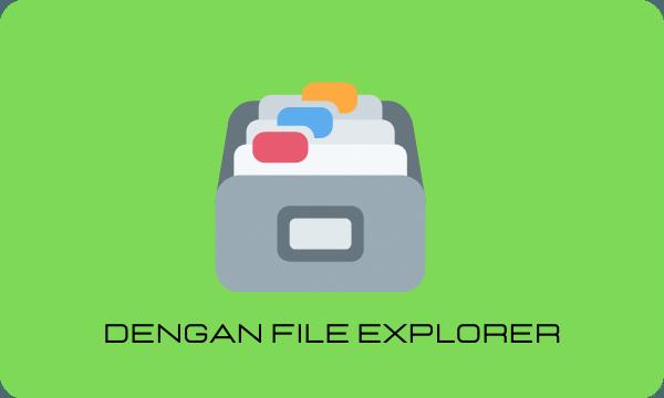 Cara Menyembunyikan file di Laptop Windows 10