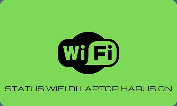 Cara memperbaiki WiFi laptop